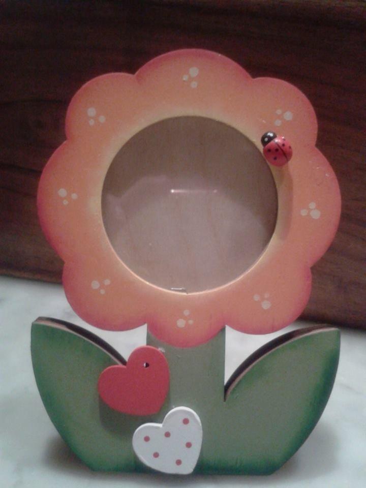 portafoto fiorellino