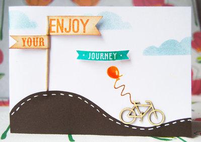Bigliettino ''Enjoy the Ride''
