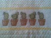 Asciugapiatti con cactus