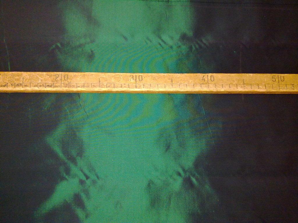 Taglio scampolo stoffa taffetà verde smeraldo
