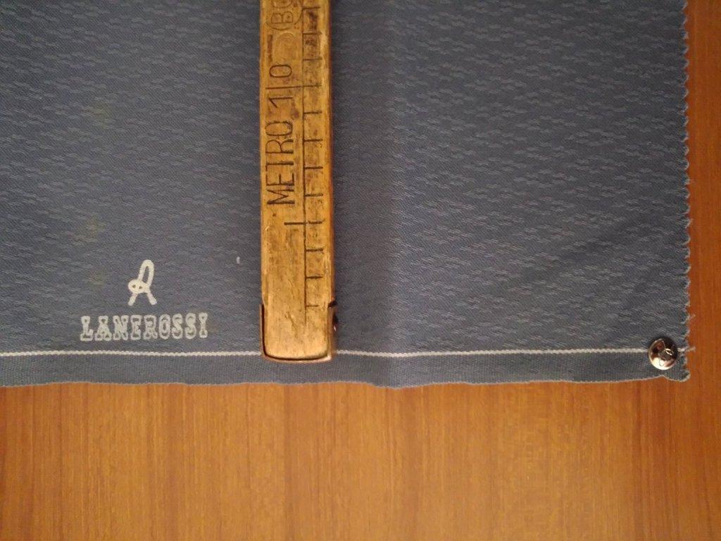 Taglio scampolo stoffa lana lanerossi per roberta di camerino lilla malva vintage anni 70