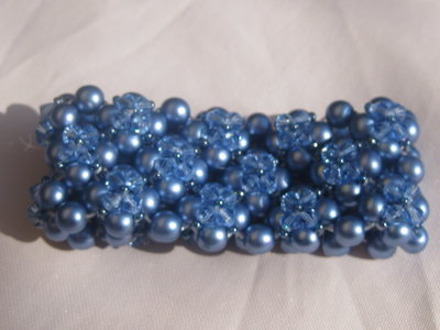 "bracciale ""flower blue"""