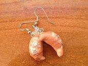 orecchini cornetto