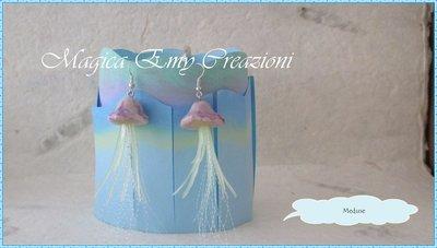 Orecchini meduse