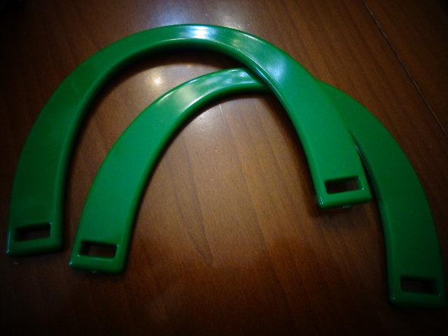 Manici mezzaluna verde Benetton