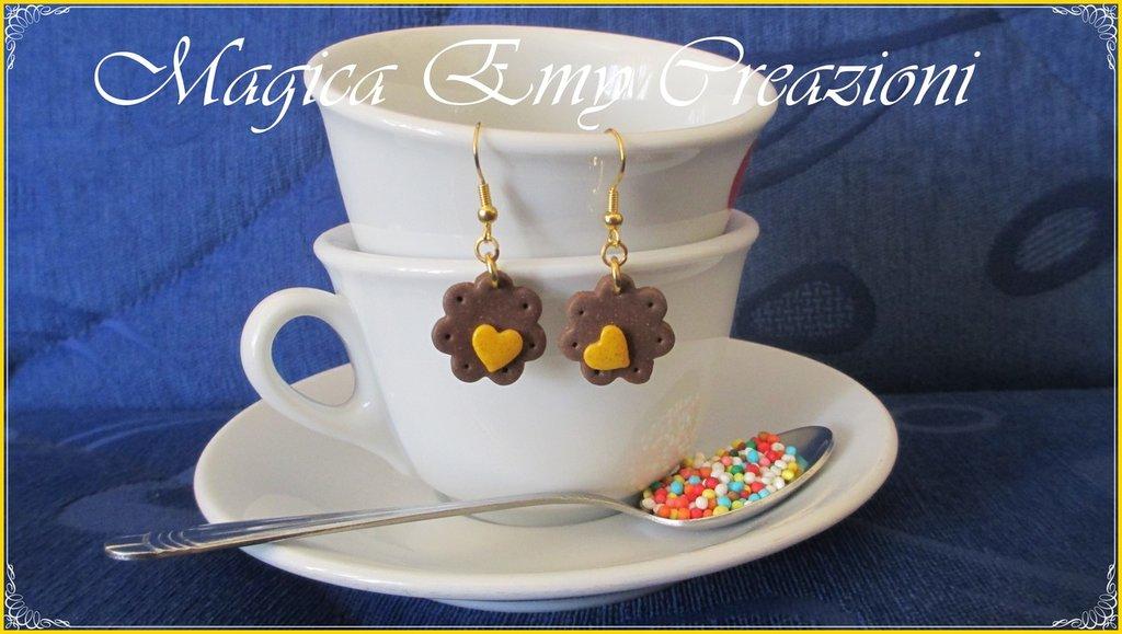 orecchini biscottini