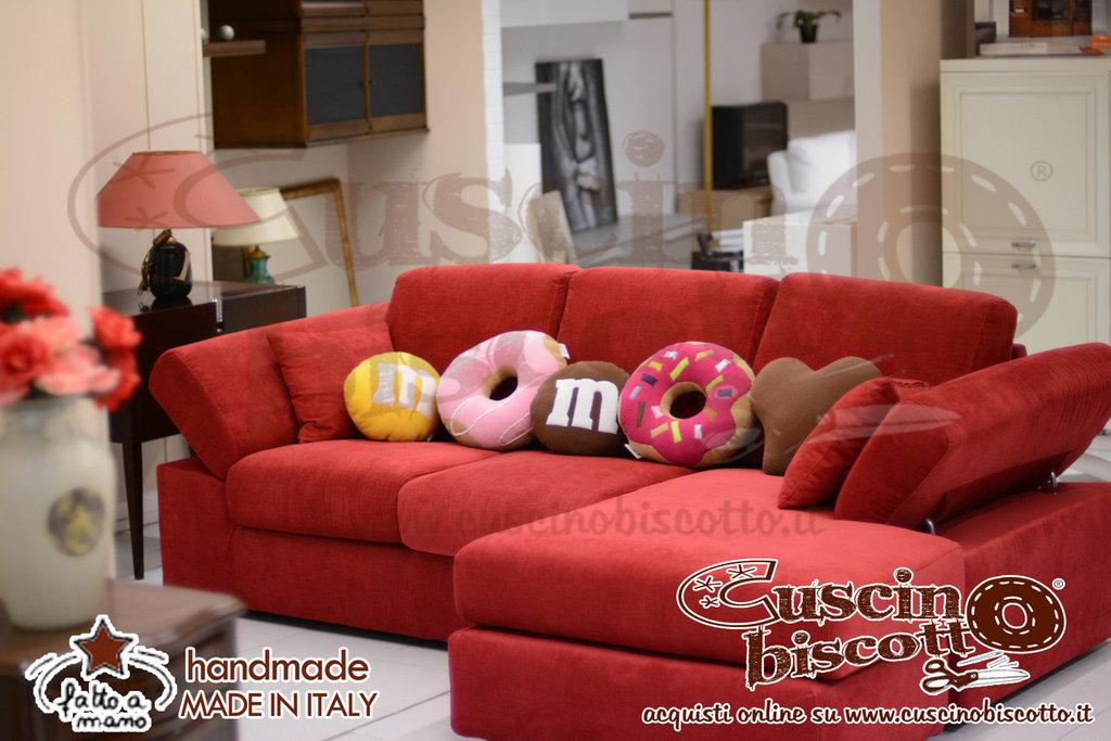 Cuscino Biscotto - Lacrima di Cioccolato  Design (Quello originale)