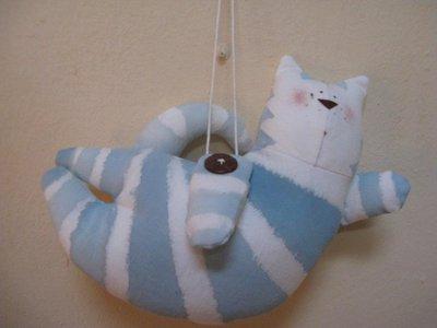 Pupazzo gattino in stoffa