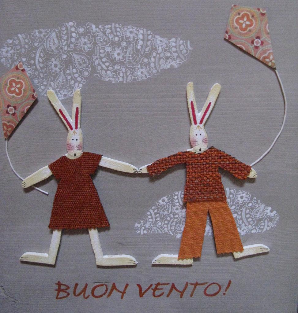 Pannello conigli buon vento