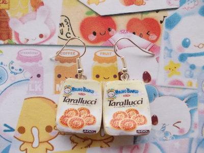 Orecchini biscotti Tarallucci