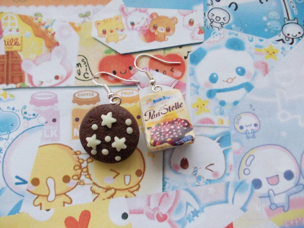 Orecchini confezione + pan di stelle