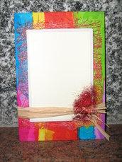 """cartolina """"colori vivaci"""""""