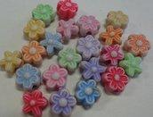 150 Perline Fiore in acrilico
