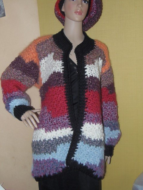 OCCASIONE cappotto multicolore