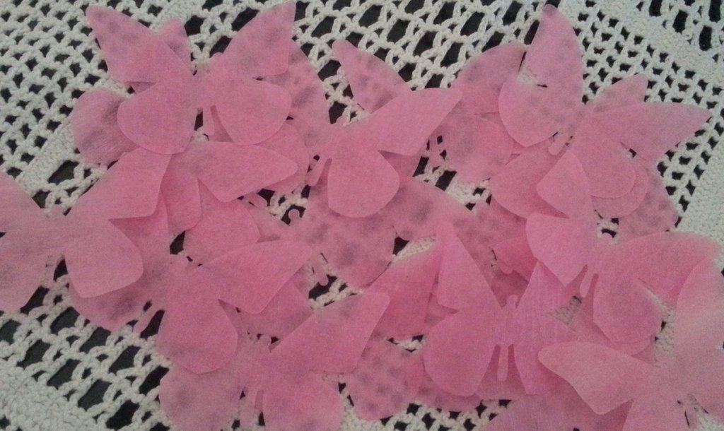 50 farfalline fustellate