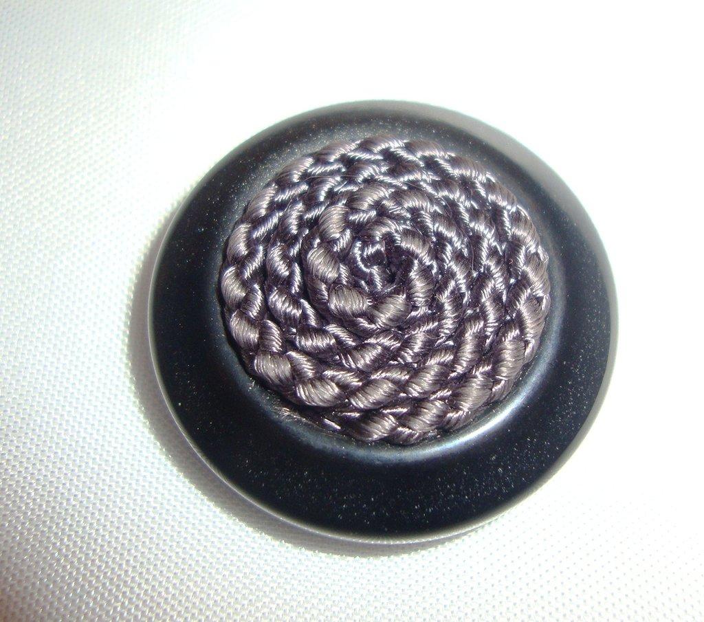 anello bottone grigio!