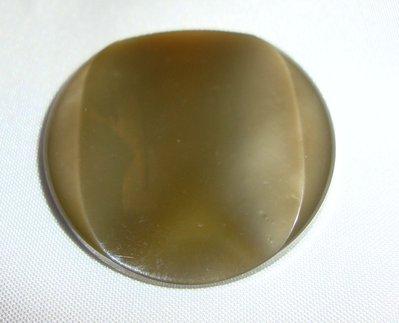 anello bottone beige!