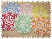 Minicentrini/Sottobicchieri di perline