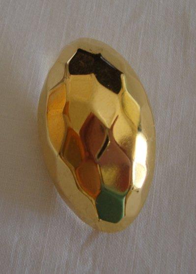 anello bottone dorato!