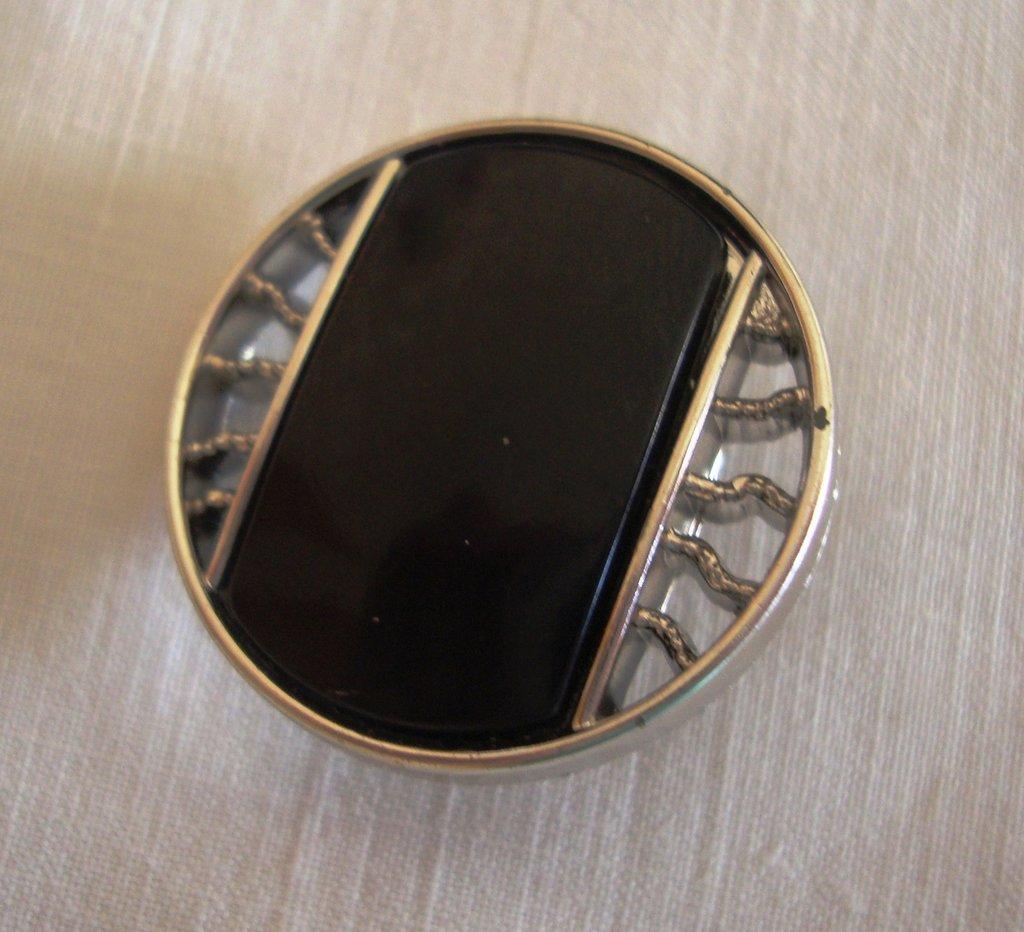 anello bottone nero!