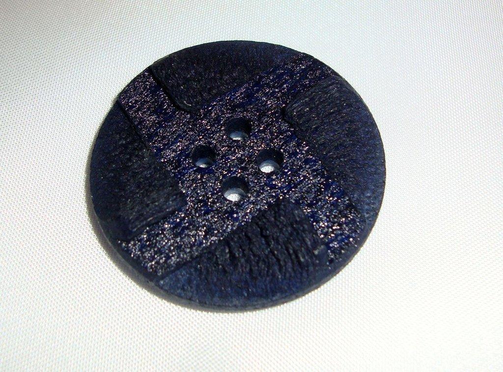 anello bottone blu!