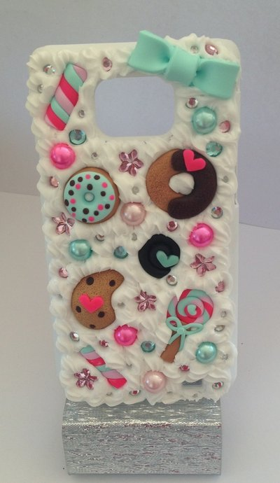 Cover per galaxy s2 con dolcetti e biscotti