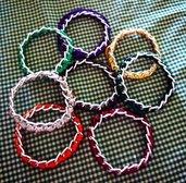 bracciali rigidi in corda e catena