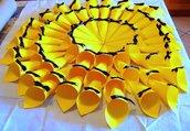 50 coni riso portariso bianchi con fiocchetto colorato