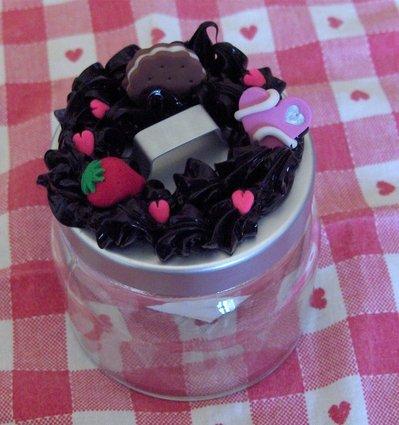 Barattolo cioccolato