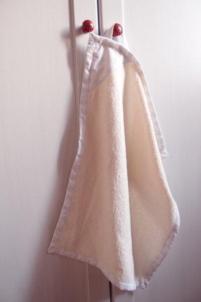 asciugamano per bimbo kit scuola