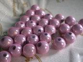 30 Perline MAGICHE in acrilico color ROSA ZUCCHERINO