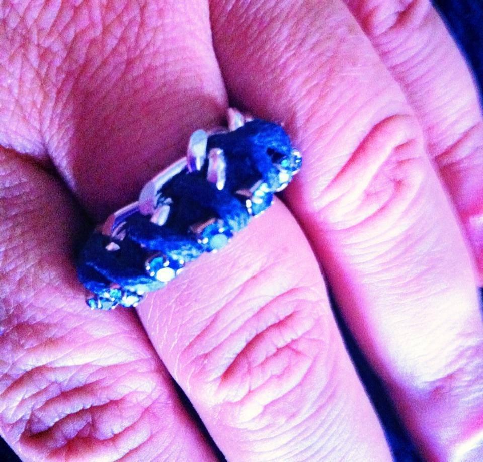 anello con corda e catena