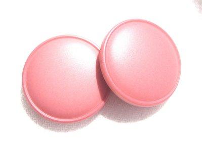orecchini bottoni rosa!!