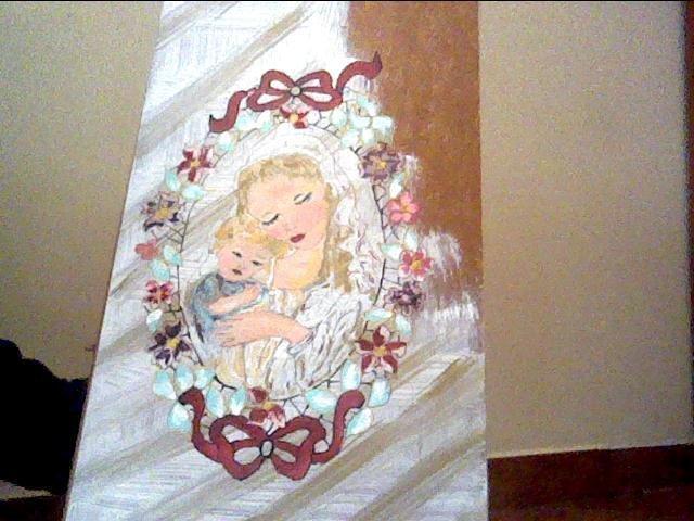 "Quadro ""Madonna con bambino"""