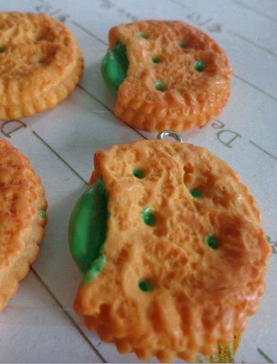 4 Biscotti Farciti alla Menta in resina