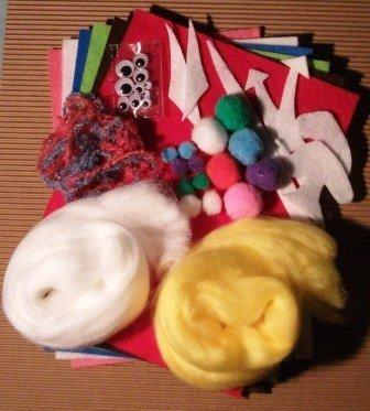 Kit creativo per Halloween - Feltro - Monsters e Ghosts^^