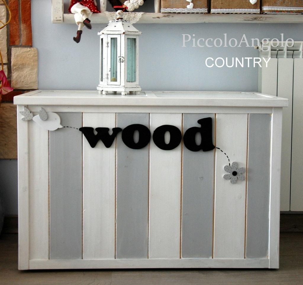 cassapanca porta legna per la casa e per te decorare
