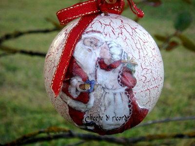 """Pallina Santa Claus"""