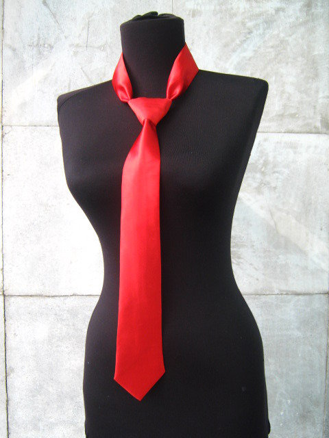 Cravatta signore rosso