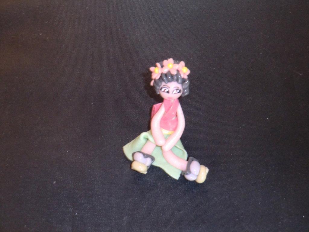 bambola in pasta di mais