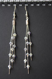 Orecchini pendenti Swarovski crystal