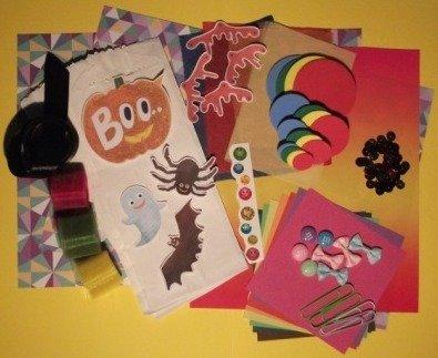 Kit creativo per Halloween^^ - Halloween Bags!