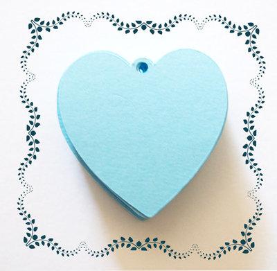 Targhette cuore 20 pezzi