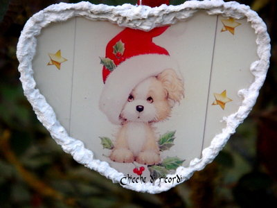 """""""Cagnolino natalizio"""""""