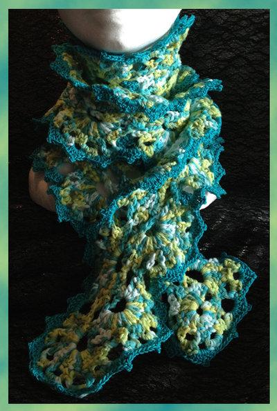 Sciarpa in cotone