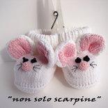 """Le scarpine """"Topo Gigio"""""""