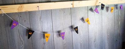 Halloween Party Paper Garland Birthday Decoration 2m