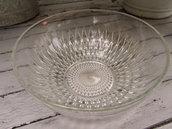Terrina vintage in cristallo molato