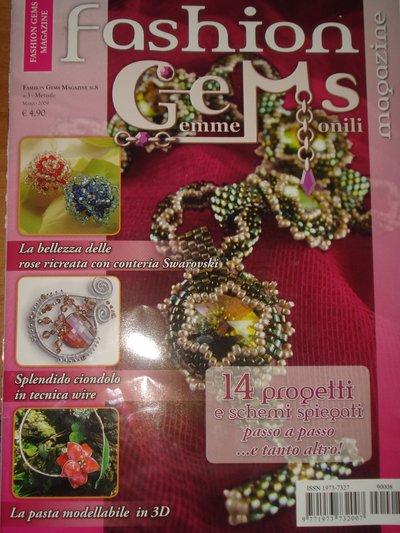 Rivista Fashion Gems Magazine più libricino Speciale Sposa