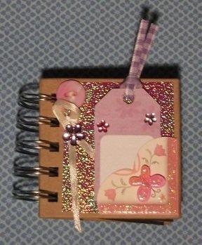 Idea Regalo! Mini Album Post-it PortaAppunti - Notes in Scrap^^